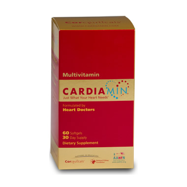 Cardiamin 30 Day Supply - Heart Multivitamin